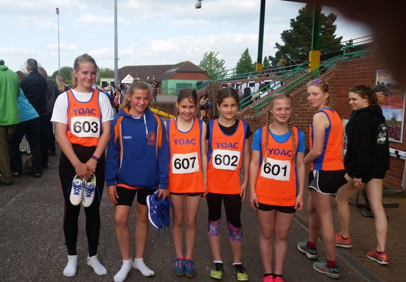 U13 Girls Show Great Spirit at South West League